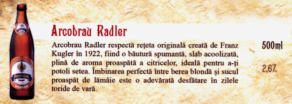 Bere Arcobrau Radler