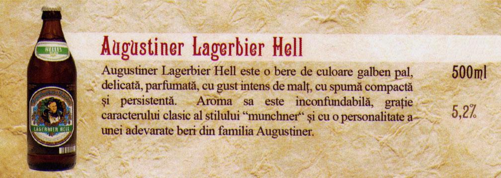 Bere Augustiner Lagerbier Hell