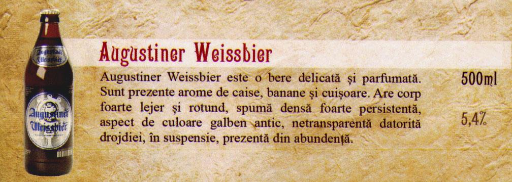 Bere Augustiner Weissbier