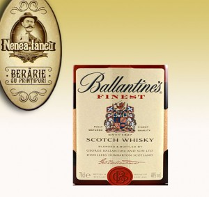 Ballantine's Scotch Whisky servit la Beraria Nenea Iancu