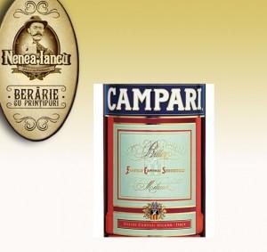 Campari vermouth - Beraria Nenea Iancu Bucuresti
