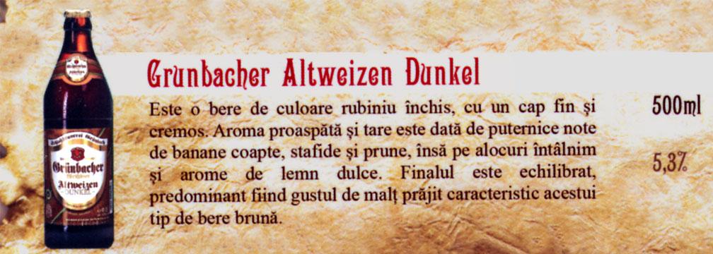 Bere Grunbacher Altweizen Dunkel