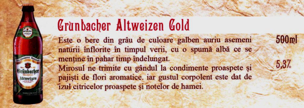 Bere Grunbacher Altweizen Gold