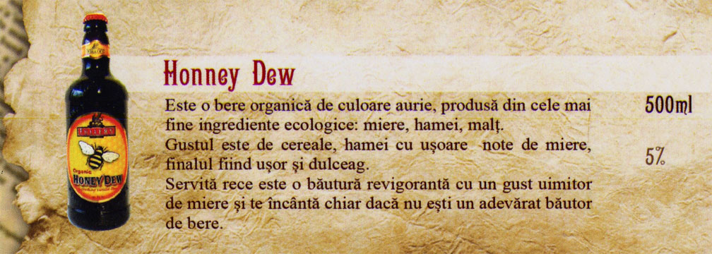 Beer Honney Dew