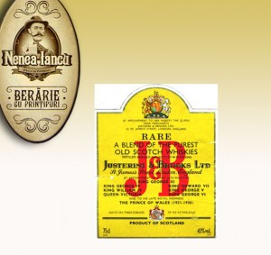 J&B Whisky - Johnson & Justerini la Beraria Nenea Iancu