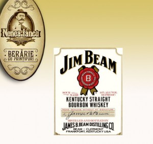 Jim Beam Bourbon Whiskey - Beraria Nenea Iancu