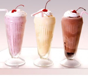 Milkshake la Beraria Nenea Iancu Bucuresti