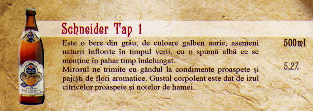 Bere Schneider Tap 1