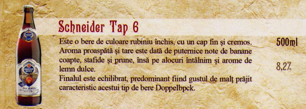 Bere Schneider Tap 6