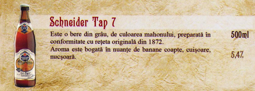 Bere Schneider Tap 7