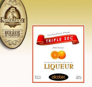 Triple Sec liqueur - Beraria Nenea Iancu