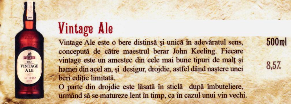 Bere Vintage Ale