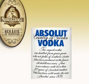 Absolut Vodka - Beraria Nenea Iancu Bucuresti